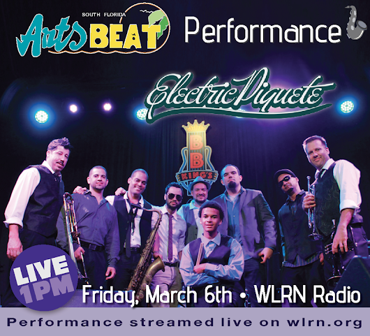 Latin-Funk-Fusion Band, Electric Piquete Performs Live On South Florida Arts Beat