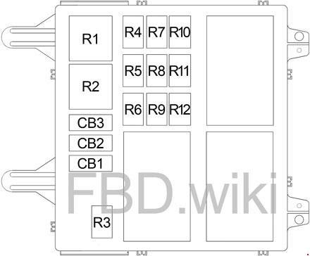 02 07 Jeep Liberty Kj Fuse Box Diagram