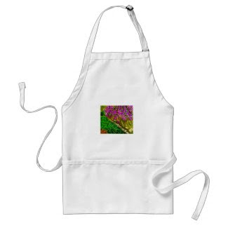 Cherry Blossom Art on Apron