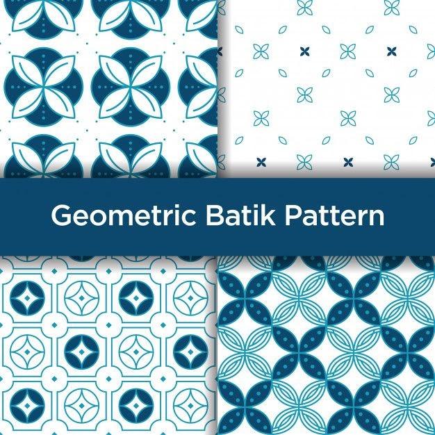 Gambar Motif Batik Geometris - Batik Indonesia
