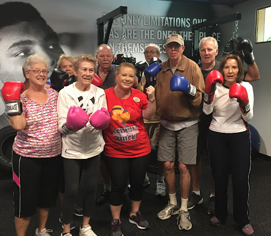 Rock Steady: Creating Friendships and Fighting Parkinson's