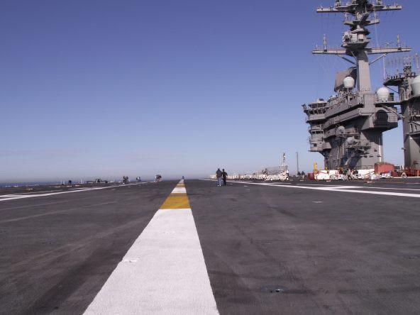 """Ký sự 1 ngày trên tàu sân bay Mỹ Carl Vinson: Trải nghiệm cuộc sống ở nơi """"nguy hiểm nhất"""" - Ảnh 10."""
