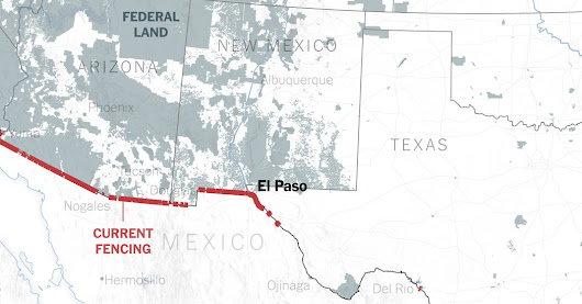 Trump Wants a Border Wall. See What's in Place Already.