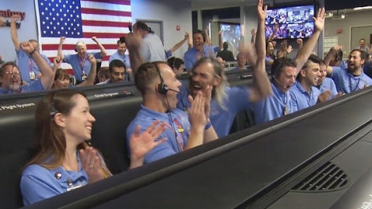 The Last-Minute Decision That Saved a Mission to Mars