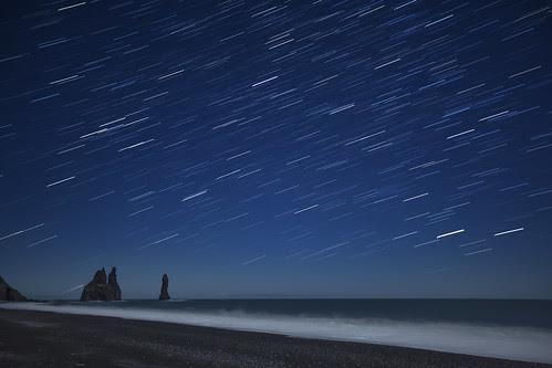 viendo las estrellas pasar