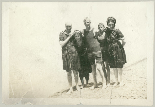 Five at the Beach 1920