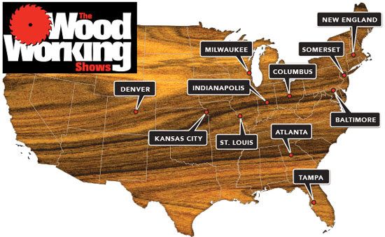 Woodworking Shows 2013 Locations