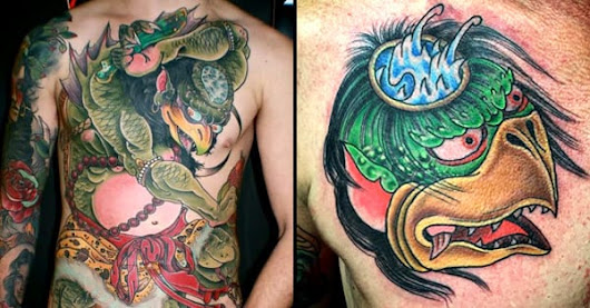 10 Mischievous Kappa Tattoos