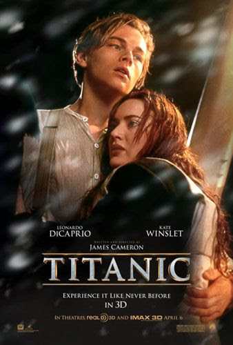 TITANIC 3D theatrical poster.