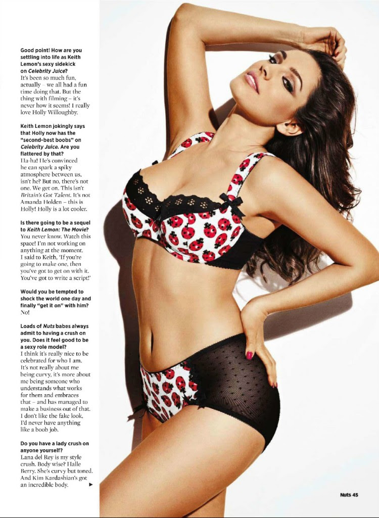 Celebrities View Buzz Kelly Brook At Nuts Magazine July