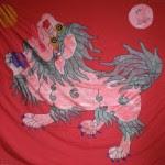 历史悠久的狮子旗,由丹增G.哲彤与阿尼玛卿研究所慷慨提供。