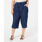 KAREN SCOTT Womens Blue Jeans Plus Size: 0X