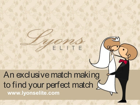 An exclusive match making to find your perfect match