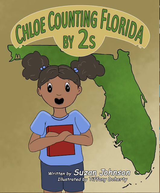 Chloe Counting Florida by 2s by Suzan Johnson