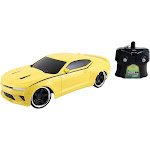 Jada Toys Hyperchargers Big Time Muscle RC 2016 Camaro SS Vehicle 1/16 Scale, Yellow