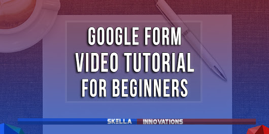 How to Set Up Google Forms for Beginners | Video Tutorial