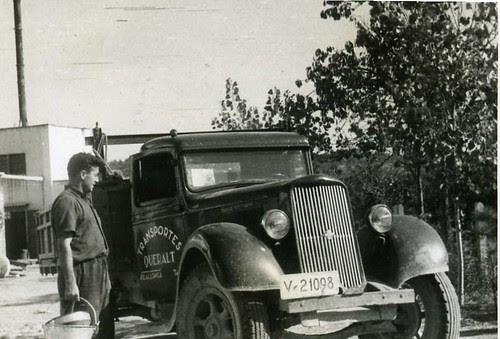 Camió a la fàbrica PAPELERA INDUSTRIAL de La Masó (Alt Camp)