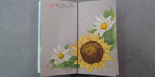 Sunny Trio, Art 365-16-34 - Faithworks Art Studio