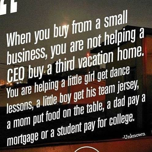 Support Small Businesses Everyday, Not Just On Small Business Saturday — Shopping Kim