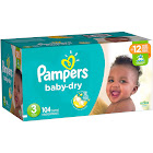 Pampers Baby-Dry Size 3 Diapers 104 ct Box