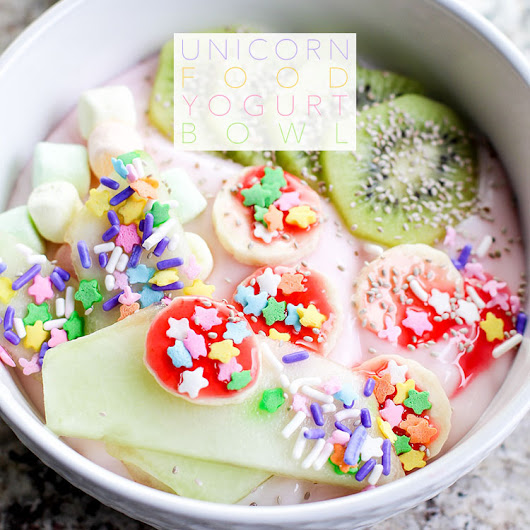 Unicorn Food Yogurt Bowl - The Cottage Market