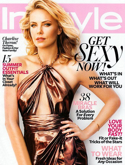 InStyle - June 2012, Charlize Theron