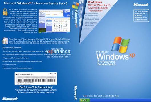 Windows XP Professional SP3 Free Download Full Version