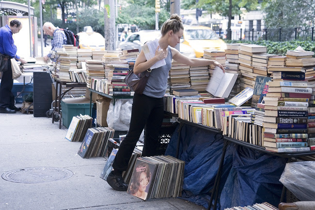 Broadway booksellers, NYC