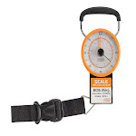 Lewis N. Clark 744354 Luggage Scale with Weight Marker Orange