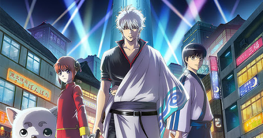 Gintama Anime to Air Reruns With New Opening, Ending Songs Starting in April