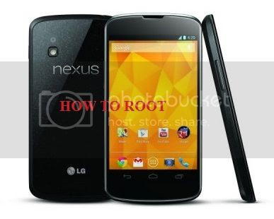 Cara Root Nexus 4 pada Android 5.0 Lollipop
