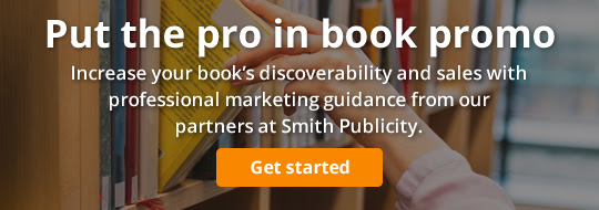 Put the pro in book promo: Increase your book's discoverability and sales with professional marketing guidance from our partners at Smith Publicity.