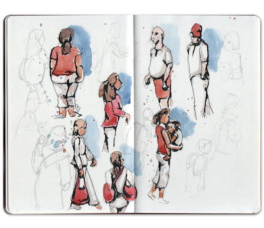 Jennifer Appel: Quick sketching