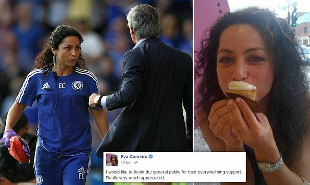Eva Carneiro is BANNED from Chelsea matches and training after angering Jose Mourinho