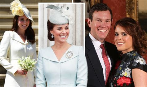 Princess Eugenie wedding: What will Kate Middleton wear to