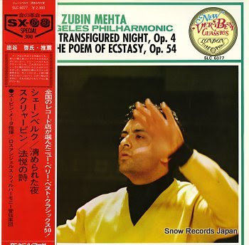 MEHTA, ZUBIN schonberg; transfigured night, op.4