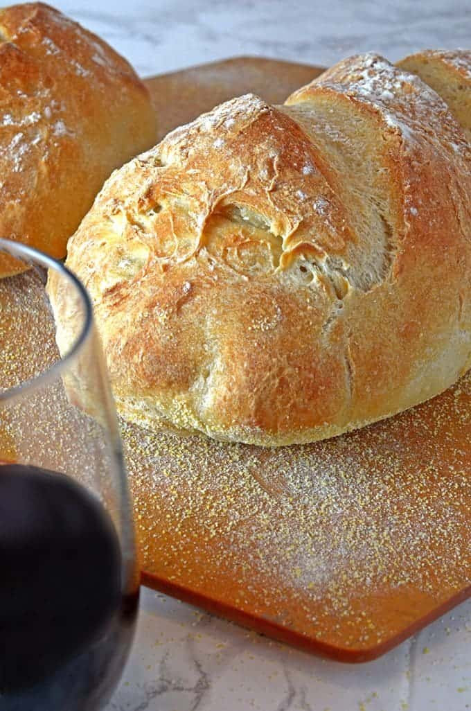 Homemade Crusty Bread - Find the Baker Within Yourself ...