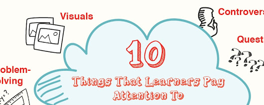 10 Things That Learners Pay Attention To (And How to Use Them in eLearning)