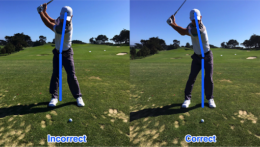 The difference between pressure and weight in the golf swing