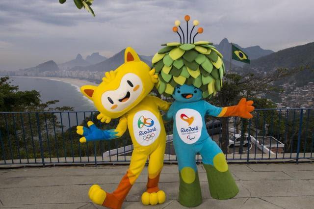 Público pode escolher nomes dos mascotes dos Jogos Olímpicos e Paralímpicos do Rio 2016 Alex Ferro/Divulgação