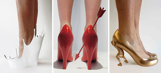 12 Shoes Embody 12 Ex-Lovers Of Artist Sebastian Errazuriz