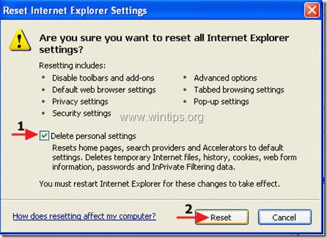 IE-reset window - WinTips.org