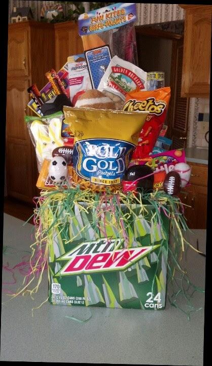 Boyfriend Easter Basket