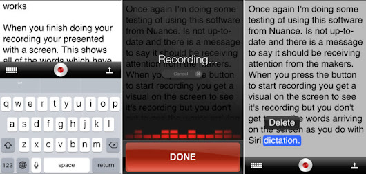 iOS Dictation - Transcription Options - Good and Geeky Books