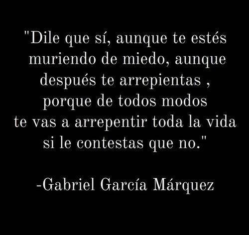 Frases Frases De Amor Gabriel Garcia Marquez Citas Frases En Espanol