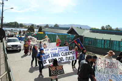 Marcha Puelo en Valdivia 11