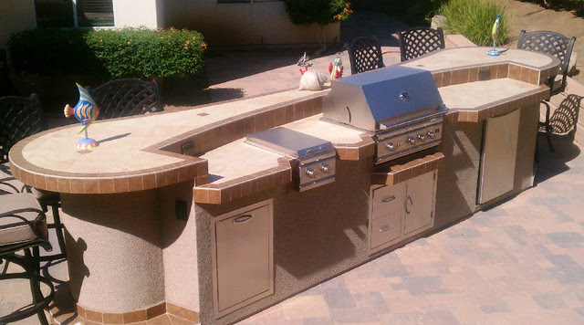 Backyard BBQ Island - contemporary - grills - los angeles - by