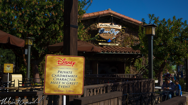 Disneyland Resort, Disney California Adventure, Blue Sky Cellar, Chase