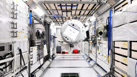 How IBM and Airbus designed a floating robot head for the ISS