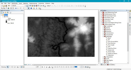 Making Cartographically Accurate Rivers using High Resolution Elevation Data in ArcMap
